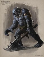 Nohtnagg Troll - Creature Design by Cloister
