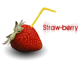 Straw-berry by Bartcore3