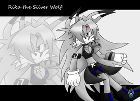 Rika the Silver Wolf by Xx-LordVincent-xX