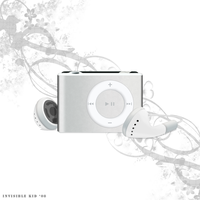 Ipod Shuffle vector by Invisible99