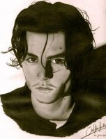 Johnny Depp by ValeriePourally