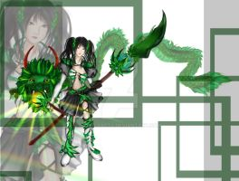Earth Dragon Warrior Adopt Auction ($2 SB!!) by jancrafts