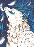 .:ACEO - Salem:. by WaywardLycan