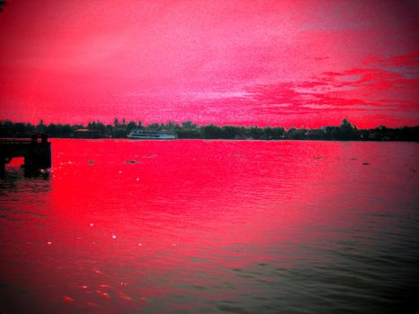 Red morning by lotring