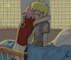 A Cry In The Dark-NaruSaku by Hobbit-Lassie