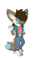 Points Commission: FeenaFVs new ID picture by SaraTheDog848
