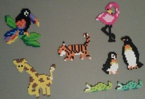 Animal Perlers by DuctileCreations