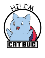 Catbug Shirt by CrossedRunner