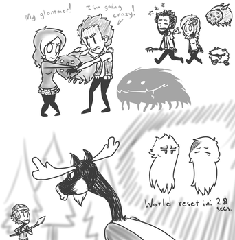 Dont Starve with Me and MagicalMircalesMarie by DerianRPG