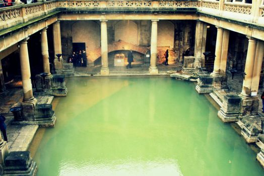 The Roman Bath by La-Civetta
