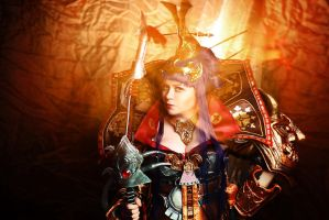 Atlantica Online Cosplay - Empress Himiko by alberti