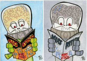 Mars Attacks Invasion - Comics by 10th-letter