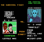 Jason Voorhees On Mike Tyson's Punch-Out!! by FearOfTheBlackWolf