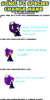 Leon's Fc Species Change by LeonTheSnowWolf