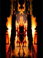 Abstract Flames by OtherWorldyImages