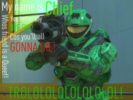 Arby 'n' the Chief: Trolololol by InvasionComic