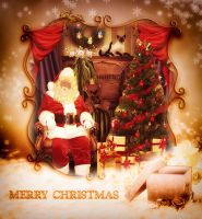 Merry Christmas to all my fellow artist by shipleygirl