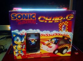 1991 Sonic The Hedgehog Char-G RC Radio Controlled by DarkGamer2011