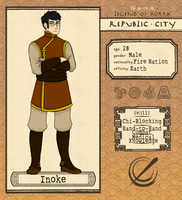 Republic City: Inoke by IChrysI