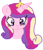Princess Cadence by cottoncloudyfilly