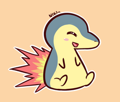 Cyndaquil by pikabang