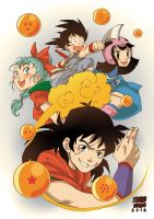 Fanart Dragon Ball Expomanga2012 _XN by xiannustudio