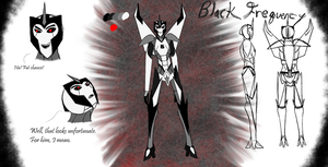 Black Frequency by Redrosesforever