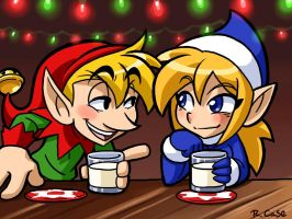 Elves after party by rongs1234
