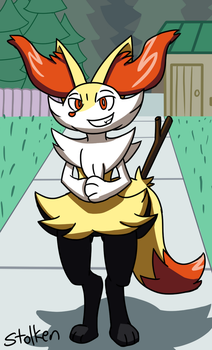 Braixen Had To Do It To Em by Stolken
