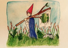 Over The Garden Wall Into The Unknown By Doodleconen On Deviantart