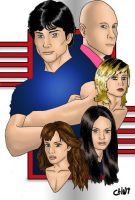 Smallville by clint-comics