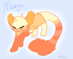 Mango art trade by Whokuu