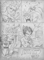 Gokou Vs. Vegeta Again3 by ViperXtreme