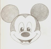 Mickey Mouse by lordzasz