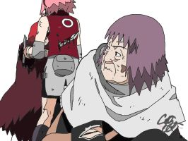 Sasori's surprise by Goforthpro