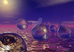 21 Spheres for Fears by Sazzart1