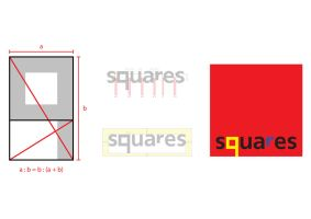 Squares Logo Construction by CostaDesign