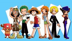 Chibi OnePiece by HP99