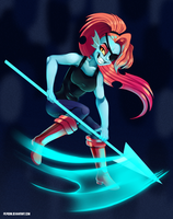 Undyne by pepooni