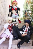 Ao no Exorcist- Shura, Shiemi, Rin by NunnallyLol