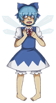 cirno wants to fight by Neonbot
