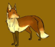 Plaguedog's Fox Colored by Booya22