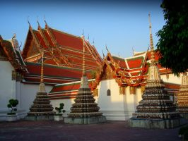 Wat Pho Tempels by Stephanie4