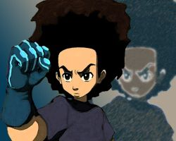 Black Power Fist by somedudenamedben