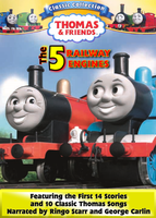 The 5 Railway Engines DVD Cover by MarzipanHomestar66