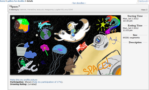 iscribble -- In Space by TaoKyuubimon
