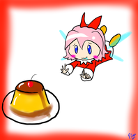 Ribbon likes Flan by Pikmingirl