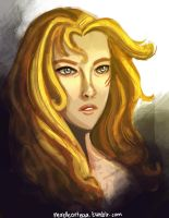Portrait of Annabeth by illustrationrookie