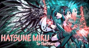 Hatsune miku Metal Wings Wallpaper by To-TheStars
