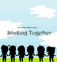 Sticking Together by CaraTheHedgehog